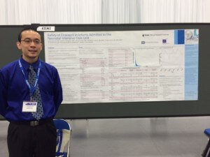 Lawrence Ku presents his findings on enalapril.
